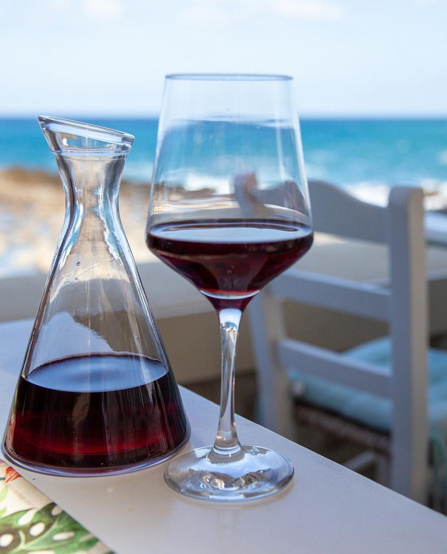 Βιολογικό Κόκκινο Κρασί Ικαρίας Λάγκυρος