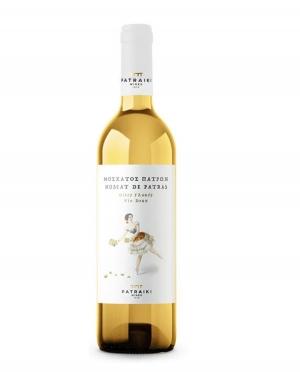 Κρασί Λευκό Γλυκό ΜΟΣΧΑΤΟΣ ΠΑΤΡΩΝ