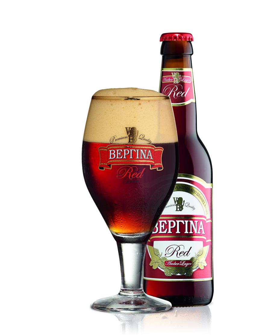 Μπύρα Κόκκινη Βεργίνα Red 0.5lt