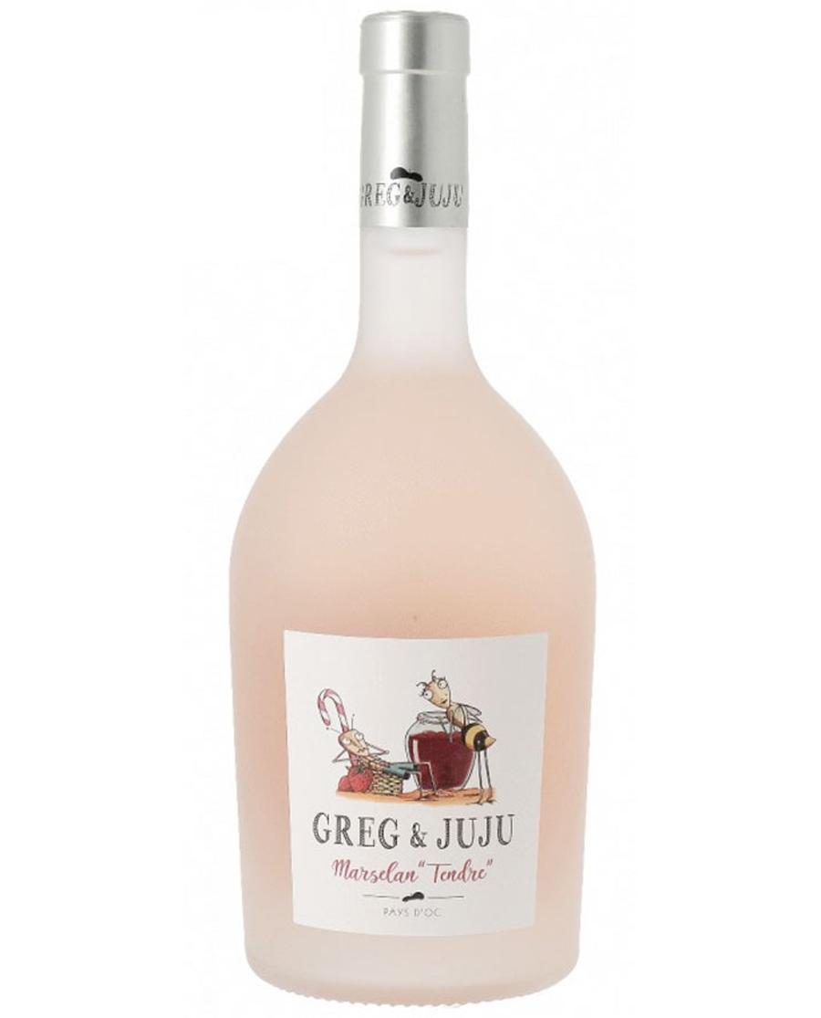 Κρασί ροζέ Greg & Juju Marselan Tendre