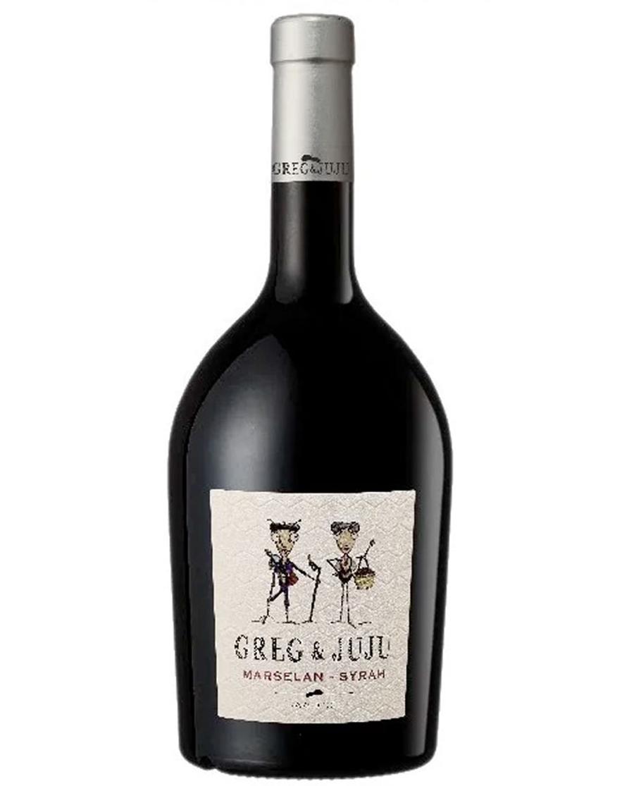 Κρασί Κόκκινο Greg & Juju Marselan Syrah