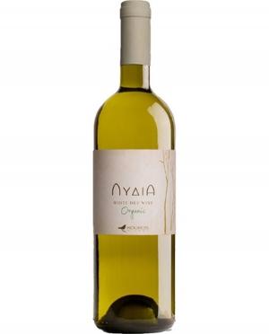 Κρασί Λευκό Ξηρό Βιολογικό ΛΥΔΙΑ Κούκος