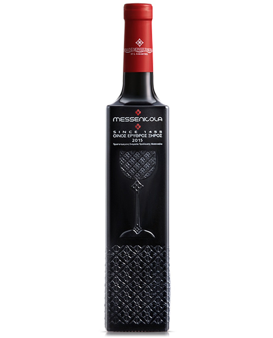 Κρασί Κόκκινο Ξηρό MESSENICOLA