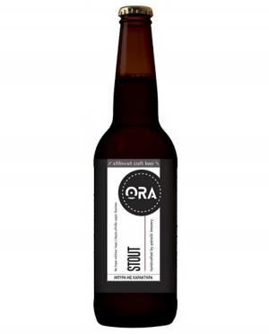 Μπύρα Μαύρη ORA STOUT Απαστερίωτη 330ml