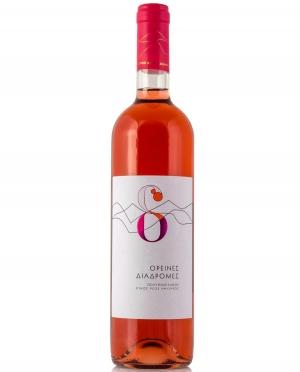 Κρασί Ροζέ Ημίξηρο ΟΡΕΙΝΕΣ ΔΙΑΔΡΟΜΕΣ