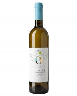 Κρασί Λευκό Ξηρό Ορεινές Διαδρομές