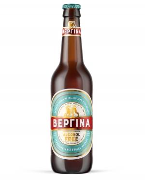 Μπύρα Ξανθιά ΒΕΡΓΙΝΑ Alcohol FREE 0.33lt