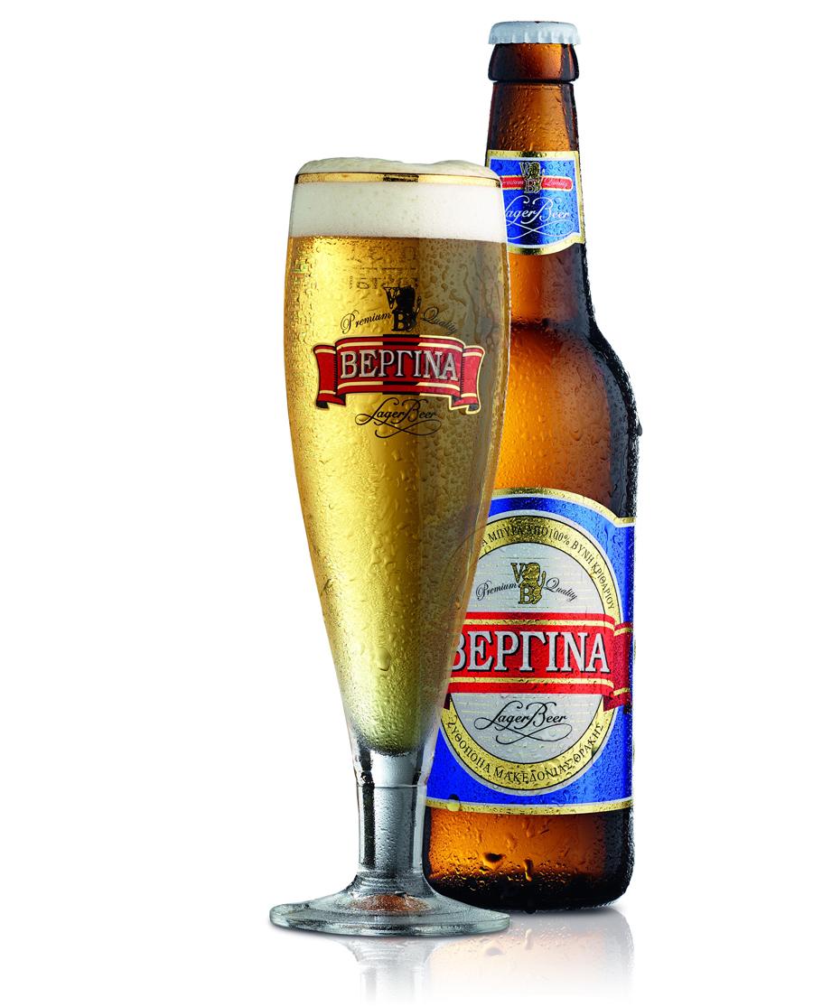 Μπύρα Ξανθιά Βεργίνα Premium Lager 0.5lt