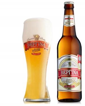 Μπύρα Ξανθιά Βεργίνα Weiss 0.5lt