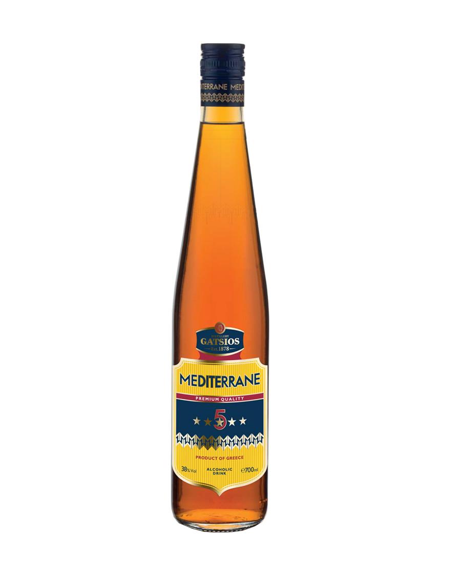 Mediterrane Brandy 5 αστέρων 700ml